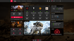 AMD Radeon™ Software Adrenalin 2020 Edition