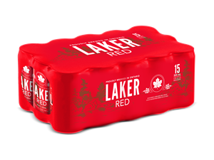 Laker Red 15 Can Pack