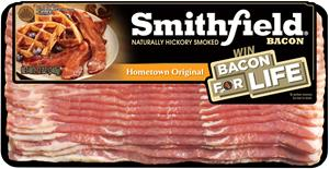 Smithfield Launches Bacon For Life Sweepstakes
