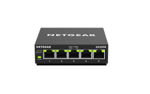 NETGEAR Smart Managed Plus Switch GS305E