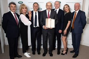 JLR Presents Supplier Excellence Award to Visteon