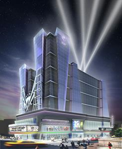 Hip Hop Hall of Fame Museum & Hotel Rendering