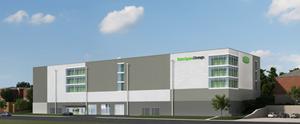 Rendering of self storage development in Ridgefield, NJ