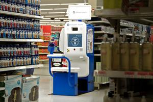 InnerScope Hearing Information Kiosk in Walmart