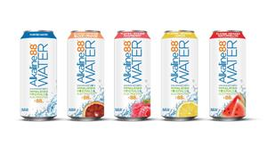 Alkaline88 Canned Flavored Product Line