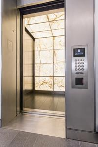 Mitsubishi Electric US, Inc. Elevator & Escalator Division introduces Diamond HS™ premium passenger elevators for high-rise buildings.