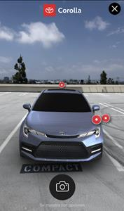 Customers Can View the All-New 2020 Toyota Corolla Up Close in AR