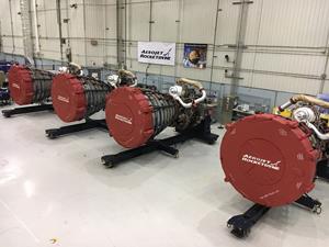 Aerojet Rocketdyne RS-25 engines