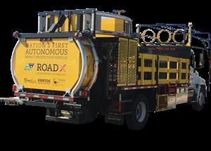 Kratos' Autonomous Truck-Mounted Attenuator (ATMA)