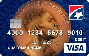 First Tennessee Bank Penny Hardaway Visa® debit card