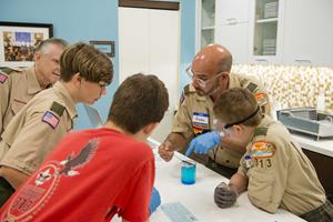 Scouts Trade in Screen Time for Merit Badge Academy on Life