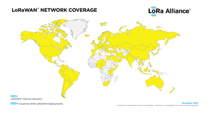 LoRaWAN™ Network Coverage