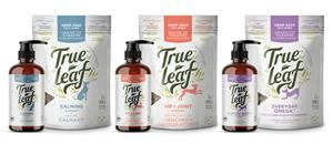 True Leaf's hemp-seed based pet supplement line