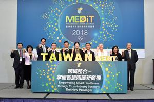 MEDiT 2018 invited industry experts to share their insights on smart healthcare and market trends.