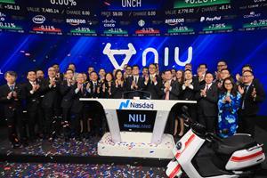 Niu Technologies (Nasdaq: NIU) Rings The Nasdaq Stock Market Opening Bell in Celebration of Its IPO