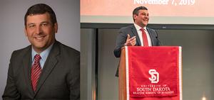 Jacob Wurth, Raven Corporate Controller, Recipient of USD Distinguished Alumni Award