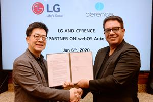 LG Electronics and Cerence