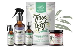 True Leaf's oil of oregano pet product line