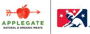 MiLB + Applegate Logo Lockup