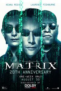 The Matrix Returns to the Big Screen for 20-Year Anniversary Exclusively in Dolby Cinema at AMC