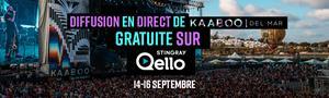 Stingray Qello nommé partenaire de diffusion exclusif de l'événement KAABOO Del Mar