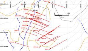 Plan Map of Fall Drill Program