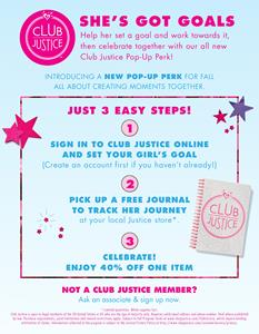 Club Justice Birthday Bash Details