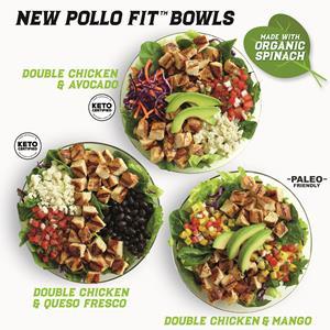 New Pollo Fit Bowls at El Pollo Loco