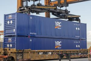 YRC Freight Branded Intermodal Containers Evolve