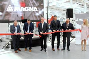 Magna Seating Chomutov ribbon cutting