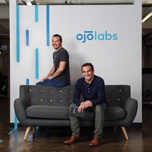 OJO Labs co-founders Chief Strategy Officer David Rubin, left, and CEO John Berkowitz