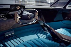 Peugeot e-LEGEND CONCEPT, Interior