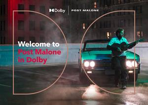 Welcome to Post Malone in Dolby