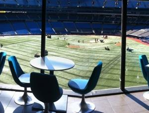 Restaurant Overlooking Rogers Centre Field