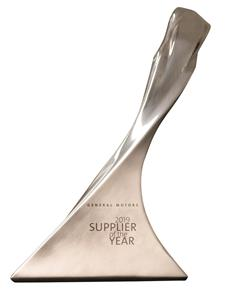 Gentex Receives GM Supplier of the Year Award