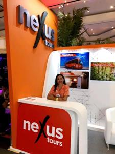 NexusTours stand at Travel Mart