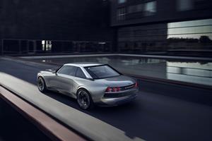 Peugeot e-LEGEND CONCEPT, Rear