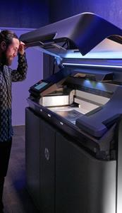 HP Jet Fusion 500/300 series 3D printer