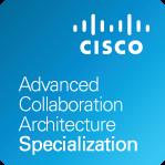 LaSalle Cisco Advanced Collaboration Architecture Specialization badge