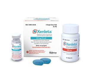 Xenleta Vial Bottle Carton tablets