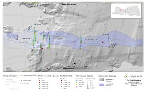 Figure 2: Plan Map of Slate Rock East
