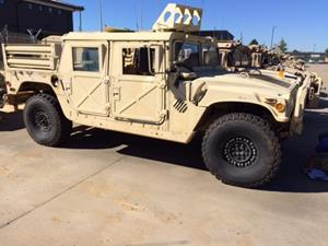 M1025A2 HMMWV on the Auction Block