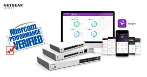 Miercom Performance Verified NETGEAR Insight Pro for MSPs