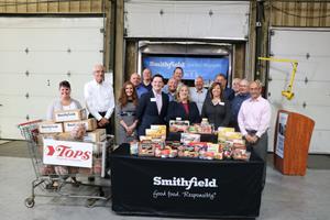 Smithfield Foods Helping Hungry Homes – Buffalo, New York