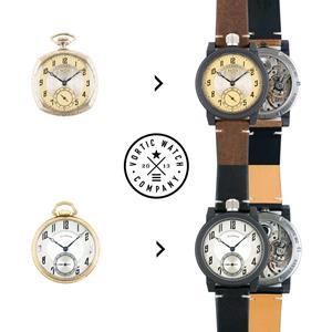 Vortic Watch Co Heirloom Pocket Watch Conversion
