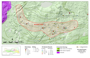 Figure 2: Boundary Prospect Plan Map
