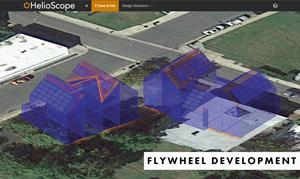HelioScope view of Flywheel Development Project