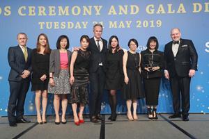 Melco Resorts & Entertainment Limited at G2E Asia Awards 2019