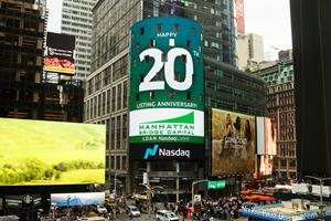 Manhattan Bridge Capital, Inc. celebrated its 20th Listing Anniversary with the Nasdaq Stock Market