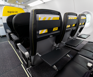 Spirit Airlines Premieres New Cabin with More Comfortable, Spacious Seats